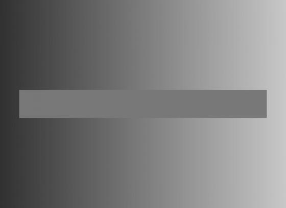 背景色による錯覚